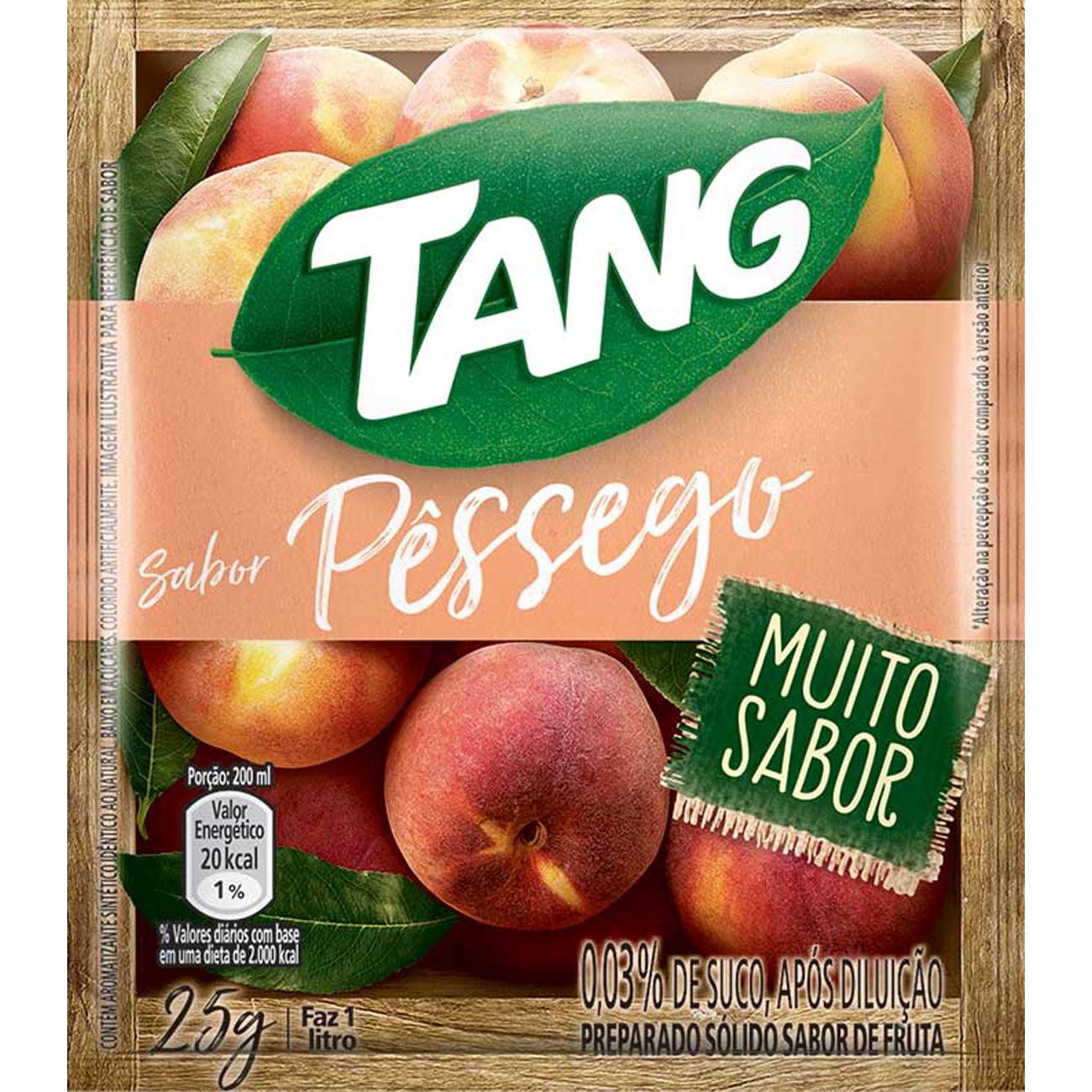 Refresco em Po Tang 25G Pessego