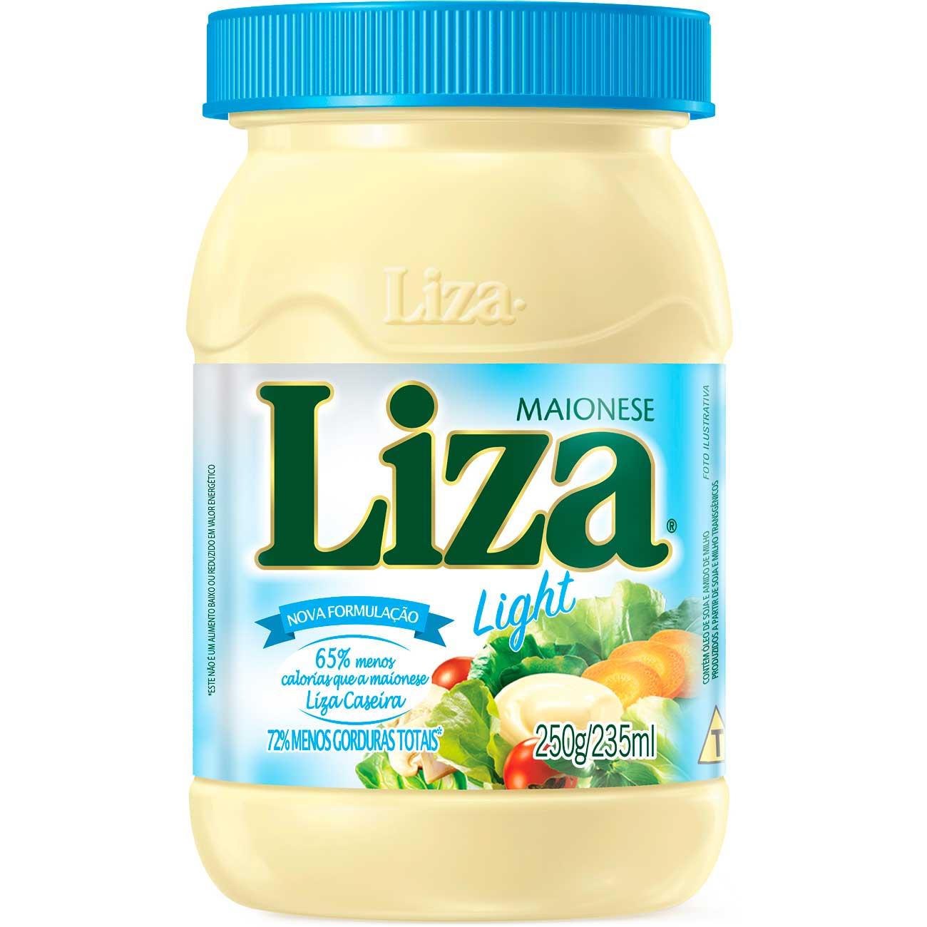 Maionese Liza Light 250g