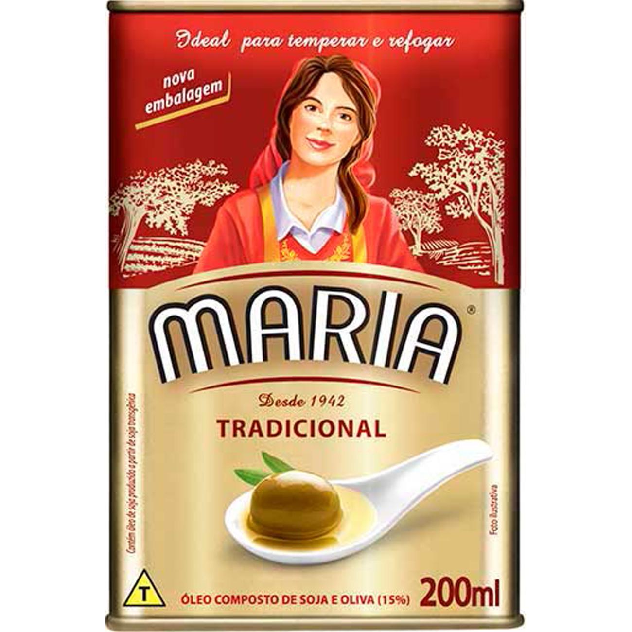 Oleo Composto Maria Tradicional 200Ml