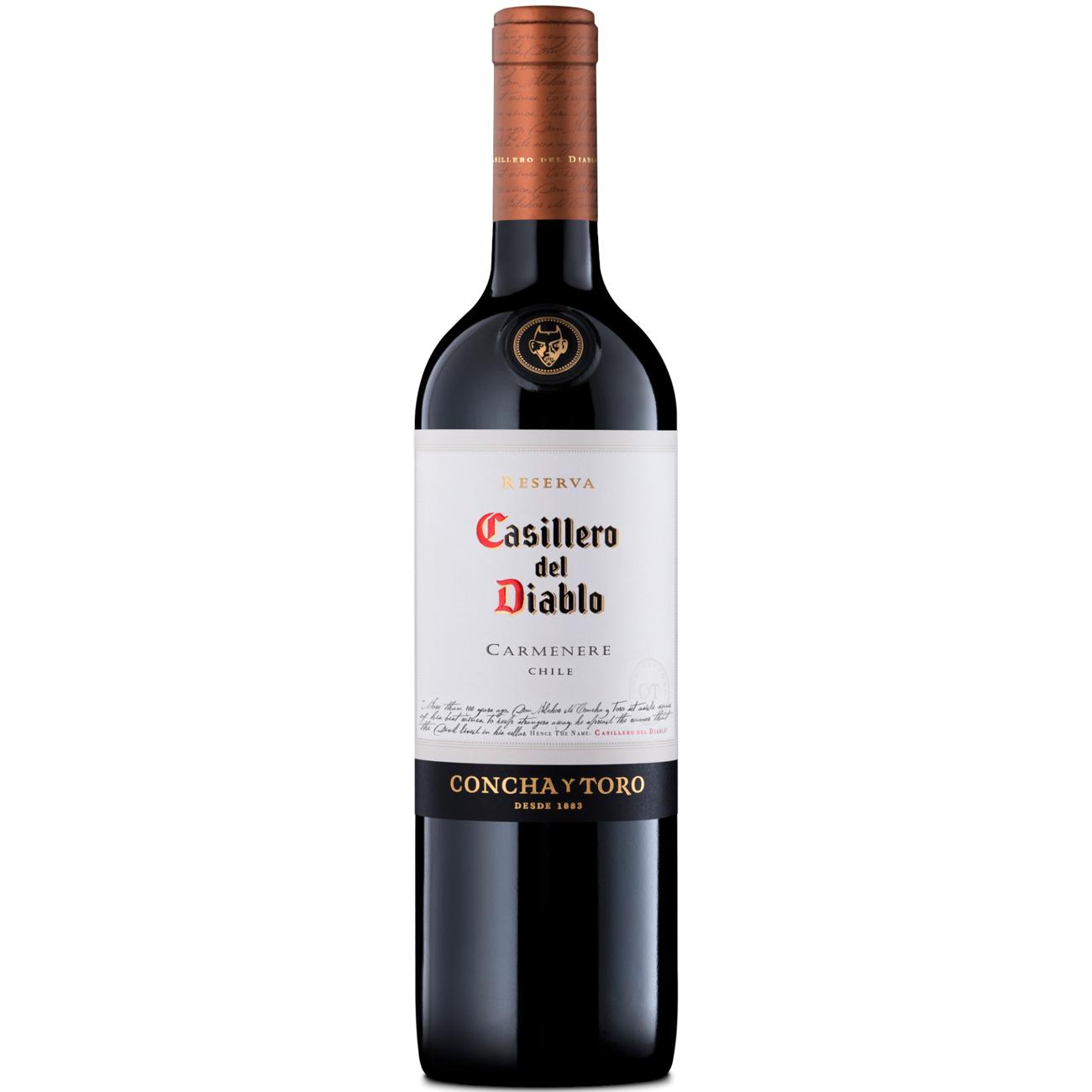 Vinho Casillero Del Diablo Carmenere Tinto 750Ml