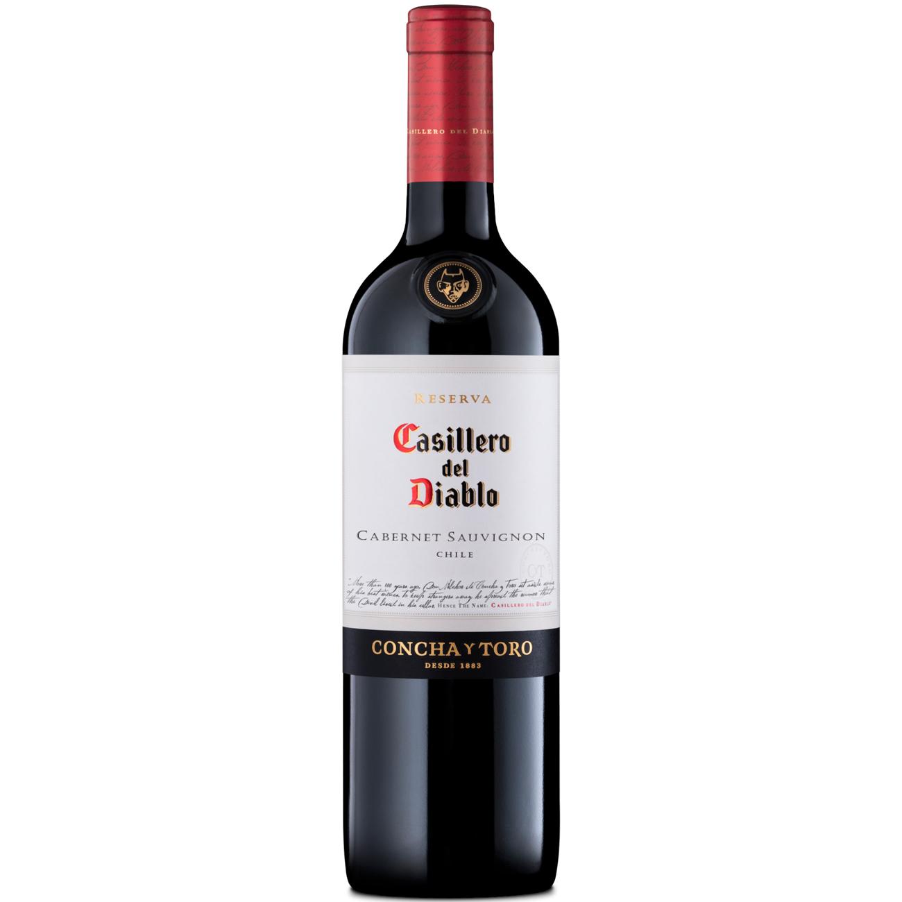 Vinho Casillero Del Diablo Cabernet Sauvignon Tinto 750ml