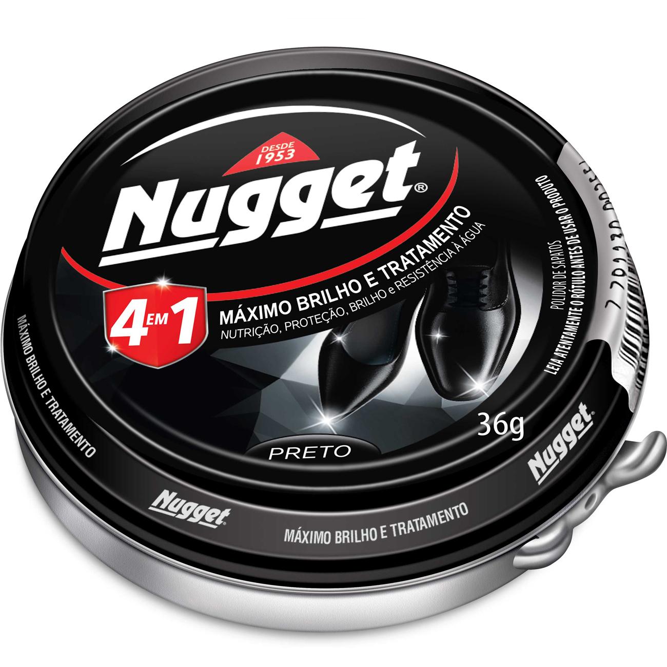Cera Pasta Nugget 36G Preto