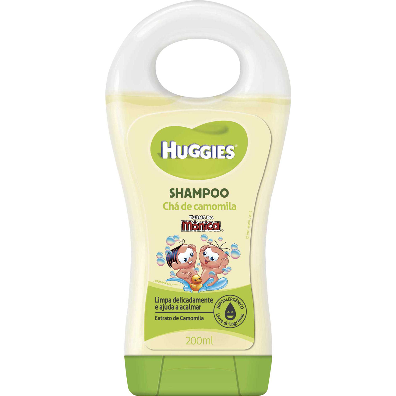 Shampoo Turma Monica Huggies 200Ml Camomila
