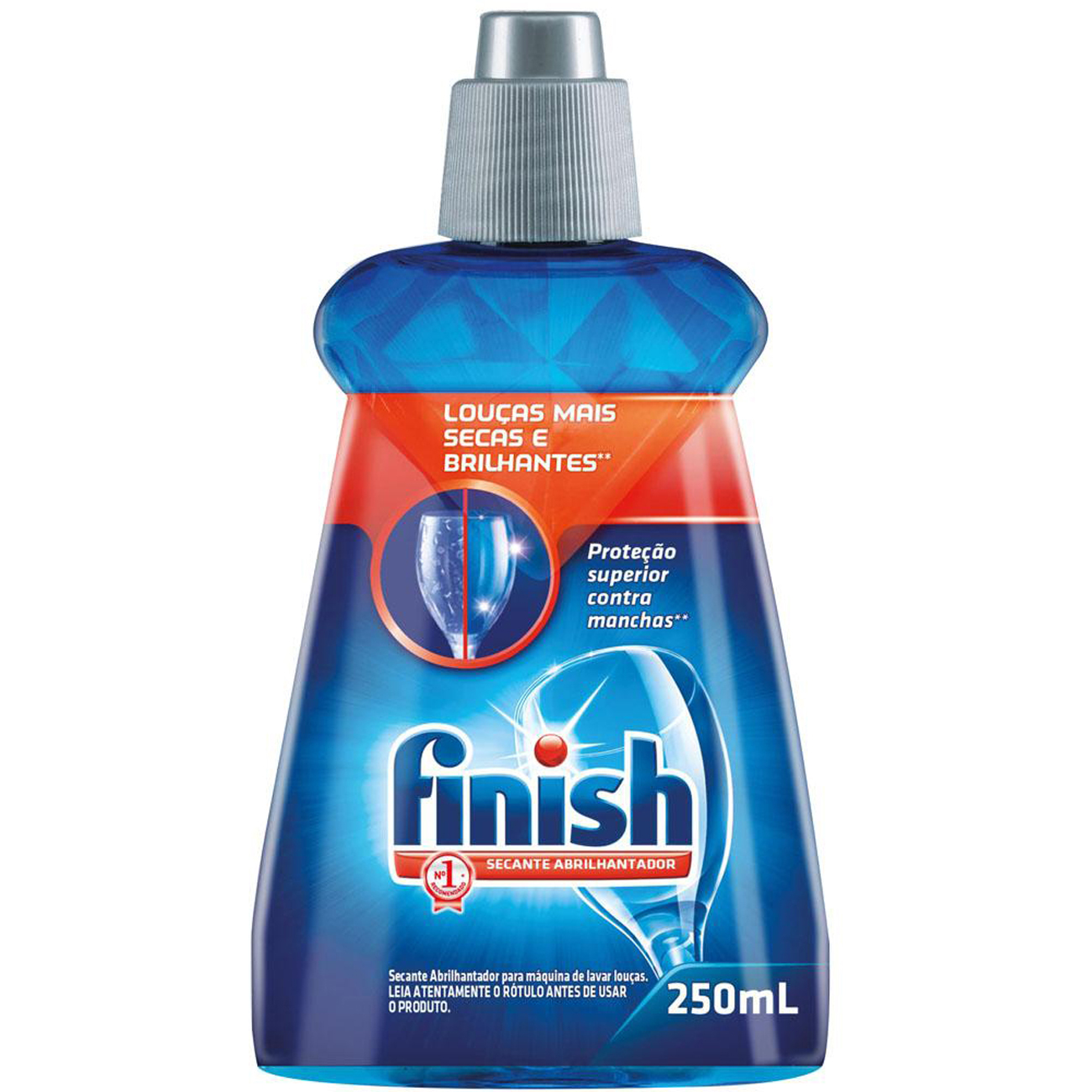 Lava Louca Liquido Finish Secante 250Ml