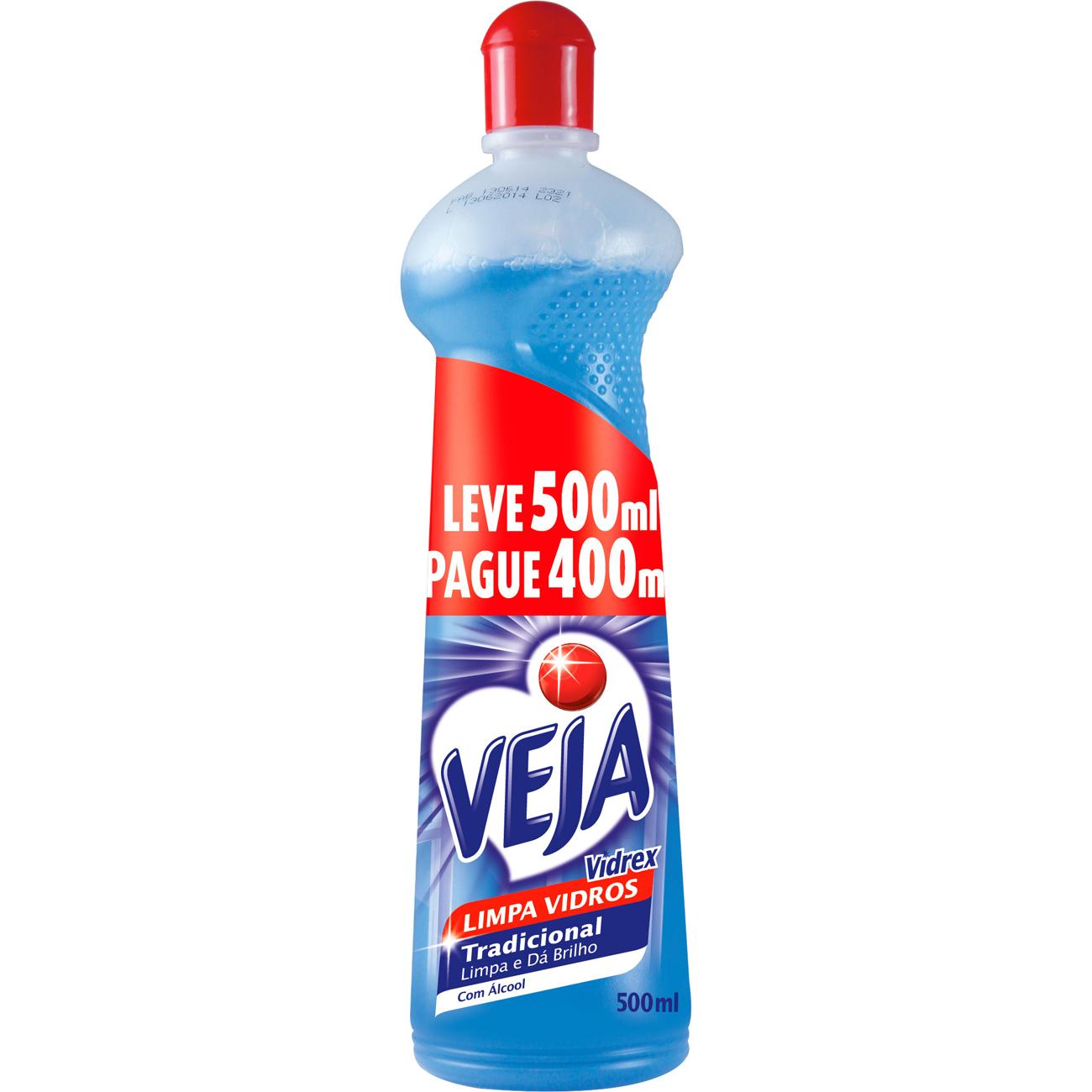Limpa Vidro Veja Vidrex 500Ml 20% Desconto