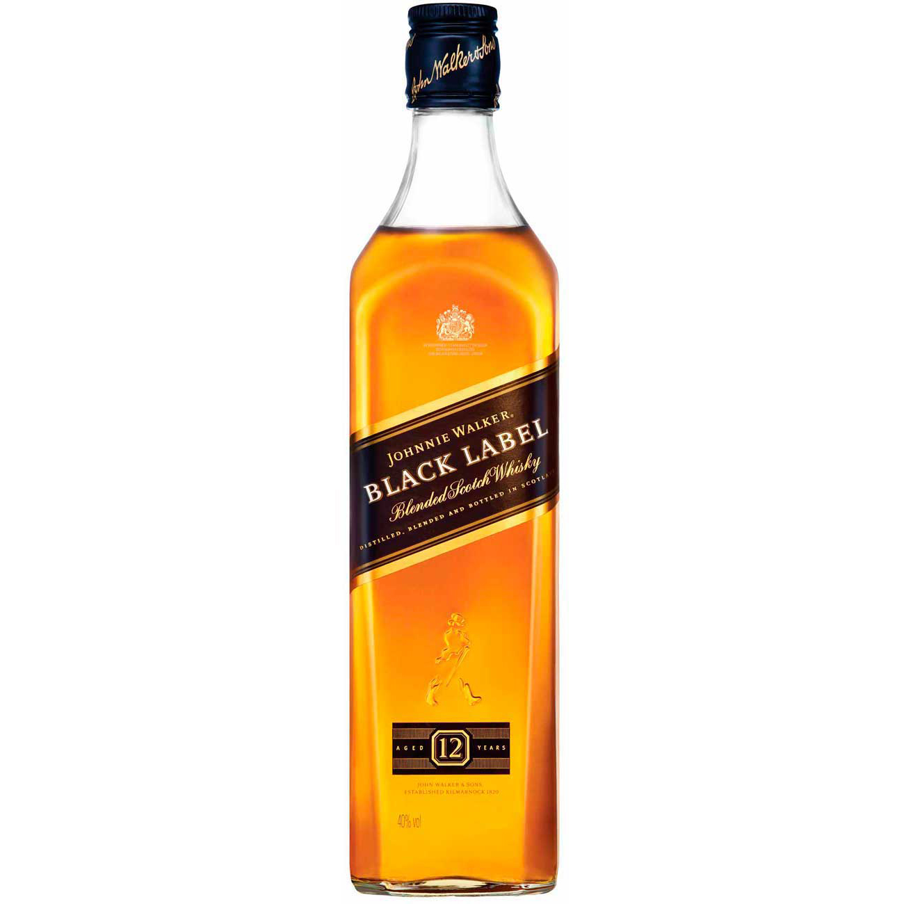 Whisky Johnnie Walker Black Label 750Ml