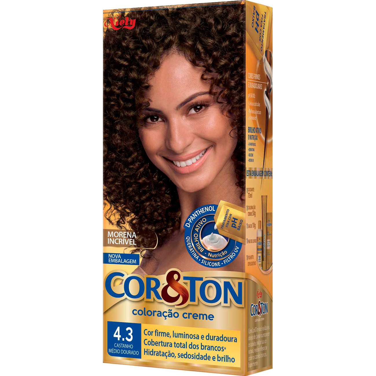 Tintura Cor&Ton Ind125G 43 Castmedio