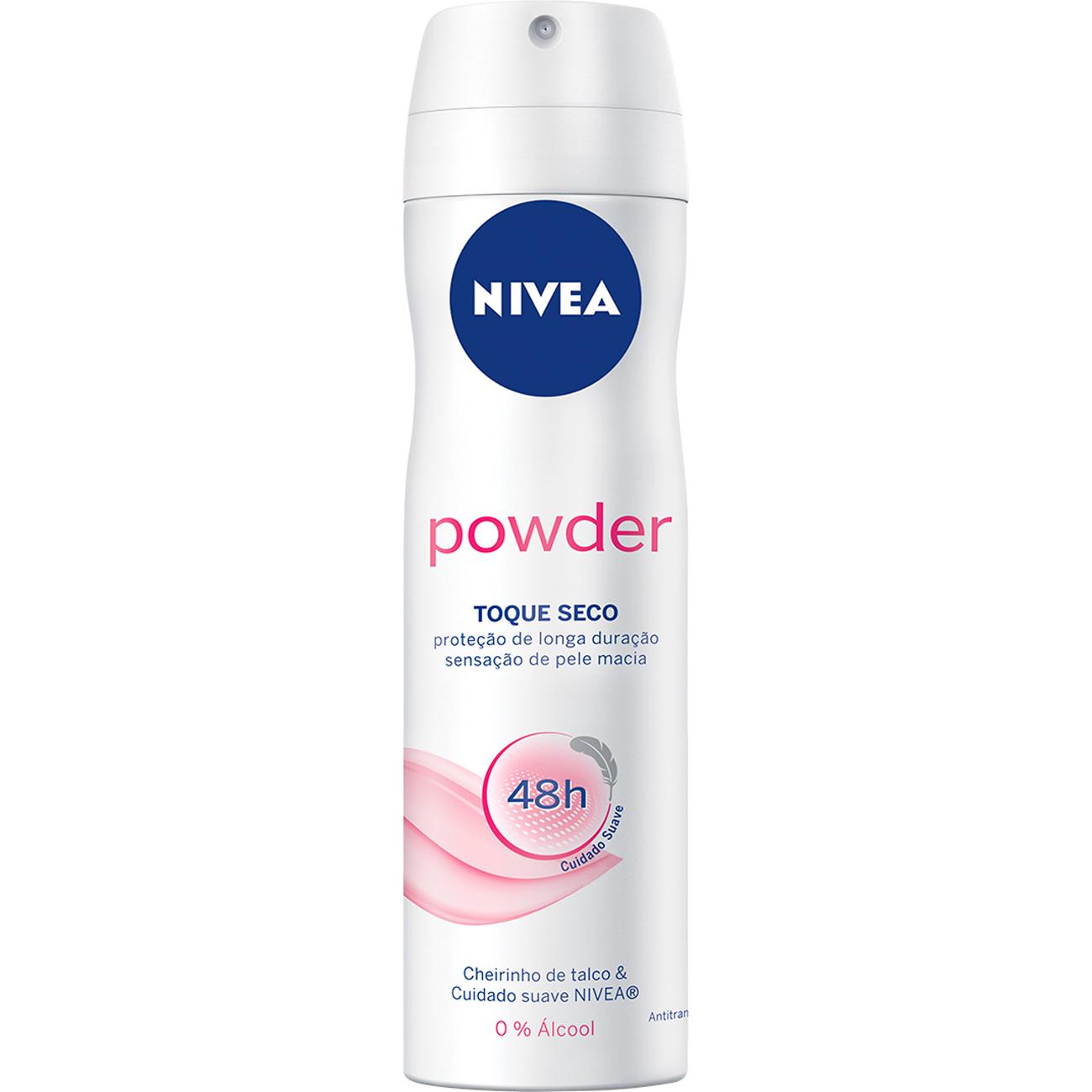 Desodorante Aero Nivea Powder Comfort 150Ml