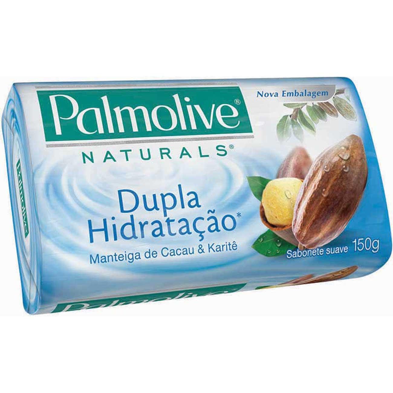Sabonete em Barra Palmolive Naturals Hidratacao Dupla Hidracao 150g