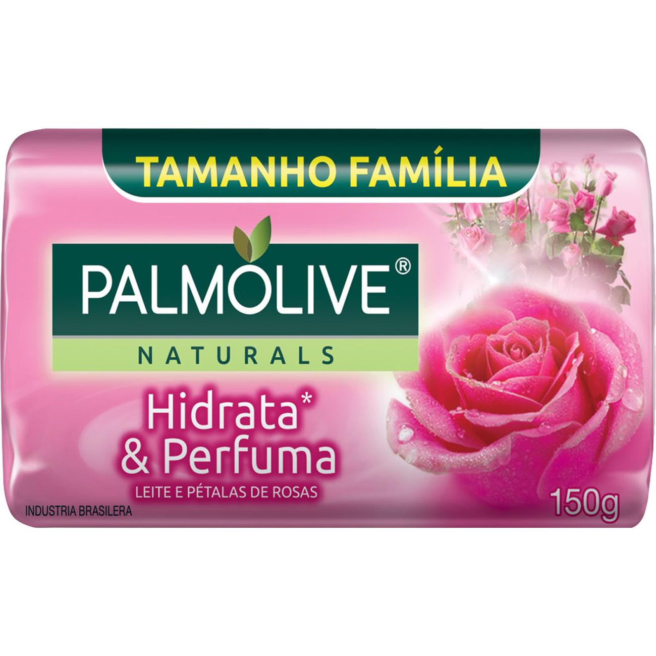 Sabonete em Barra Palmolive Naturals Hidrata E Perfuma 150G