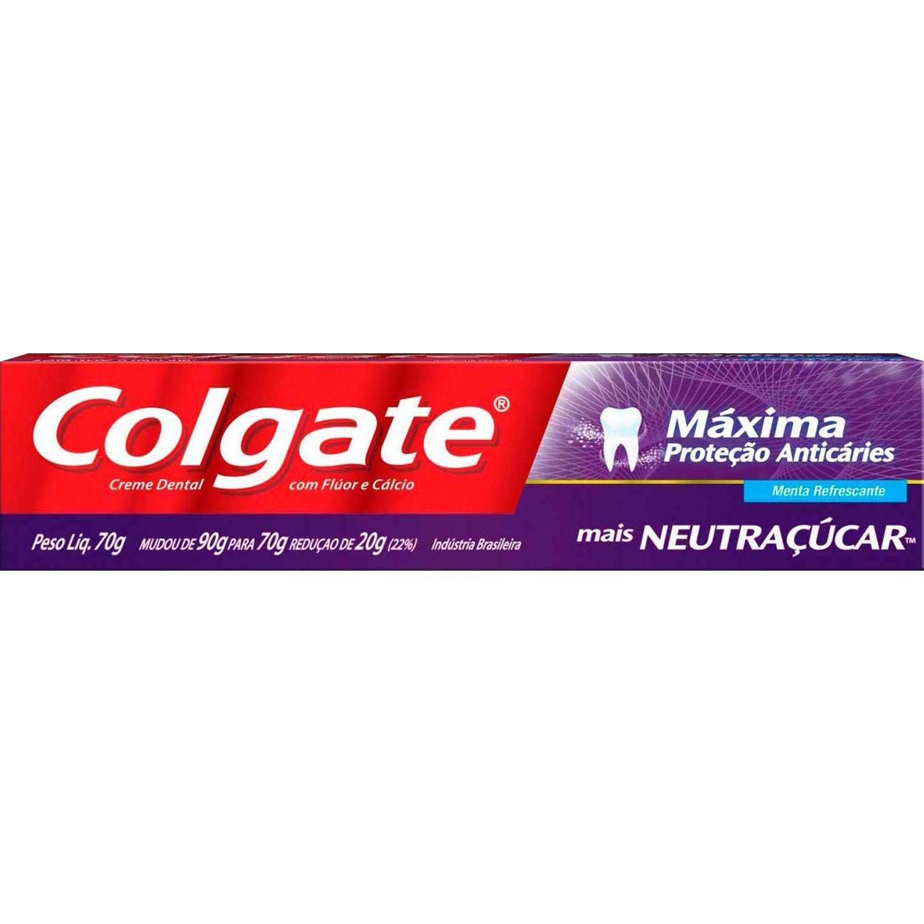 Creme Dental Colgate Maxima Protecao Anticaries + Neutr