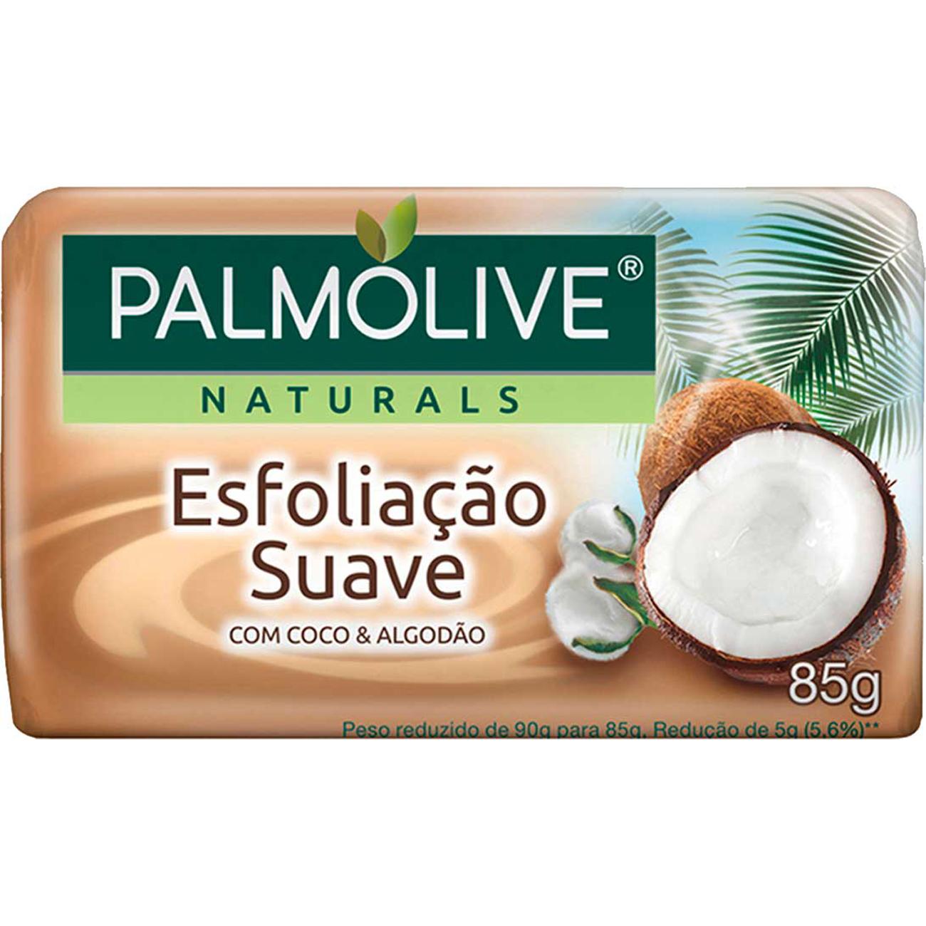 Sabonete em Barra Palmolive Naturals Esfoliacao Suave 85G