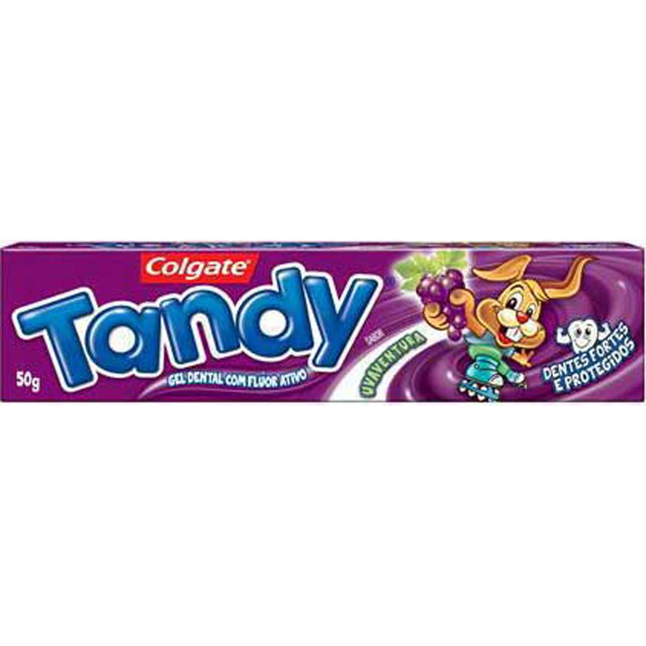Creme Dental Colgate Tandy Infantil Uva Gel 50G