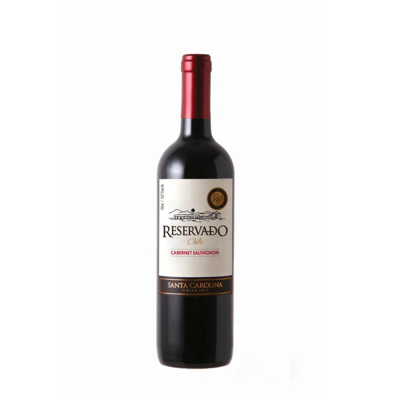 Vinho Santa Carolina Reservado Cabernet Sauvignon Tinto 750Ml