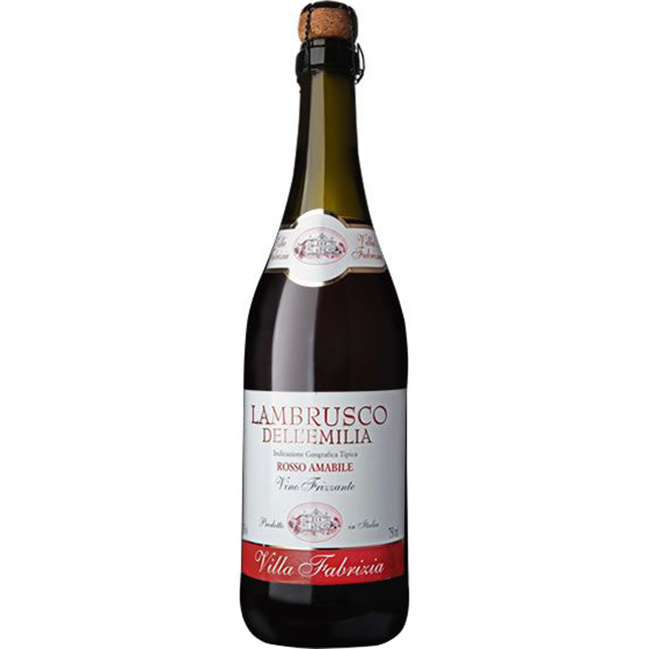 Vinho Lambrusco Villa Fabrizia Amabile Tinto 750Ml
