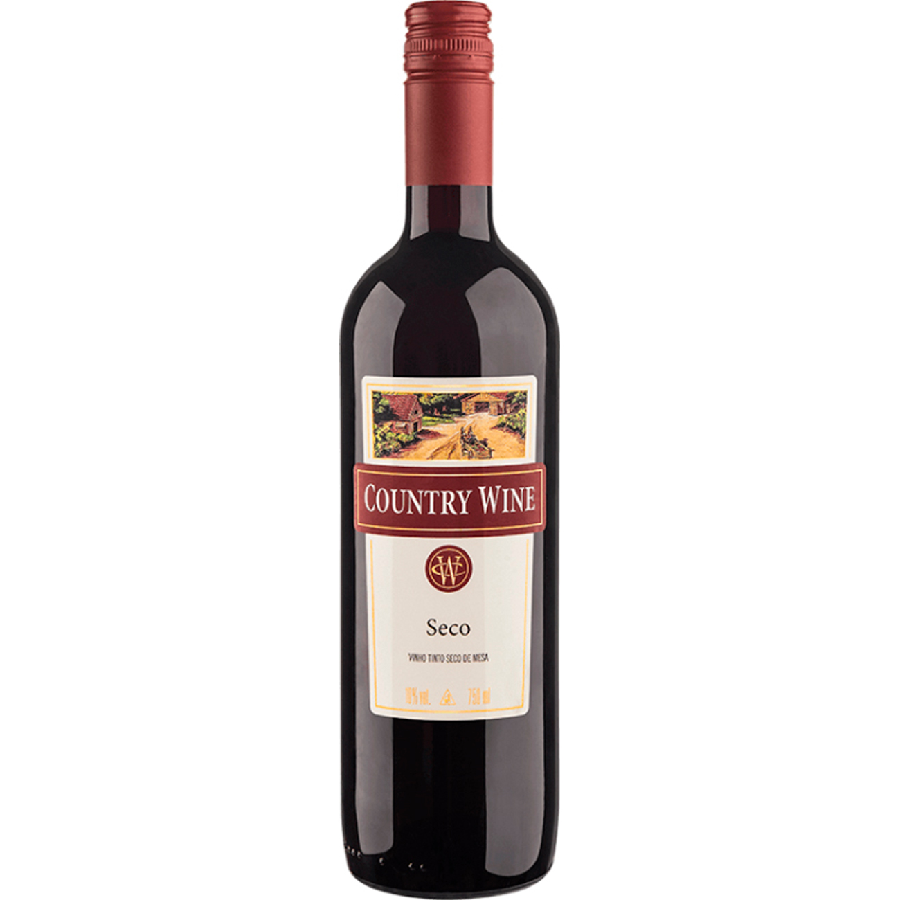 Vinho Country Wine Tinto Seco 750Ml