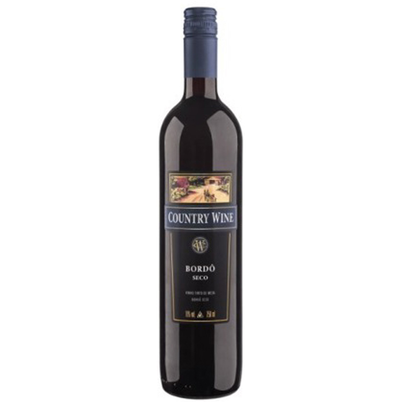 Vinho Country Wine Bordo Seco 750Ml