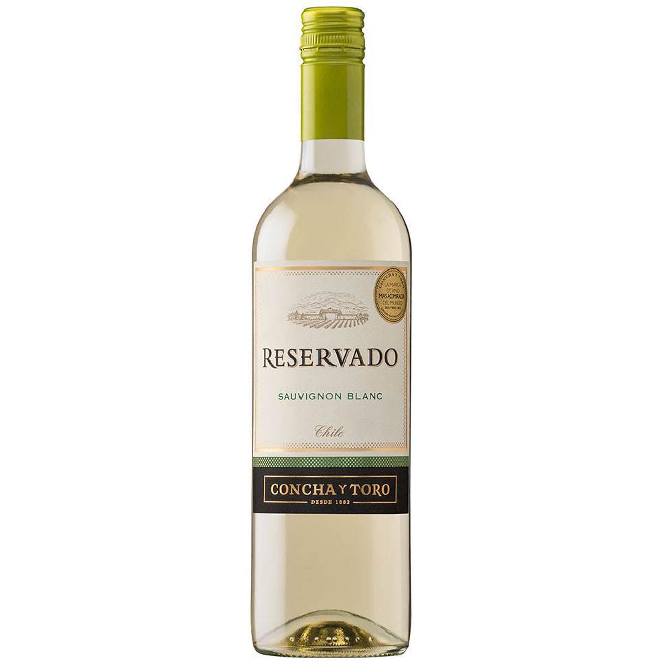 Vinho Concha Y Toro Reservado Sauvignon Blanc Branco 750Ml