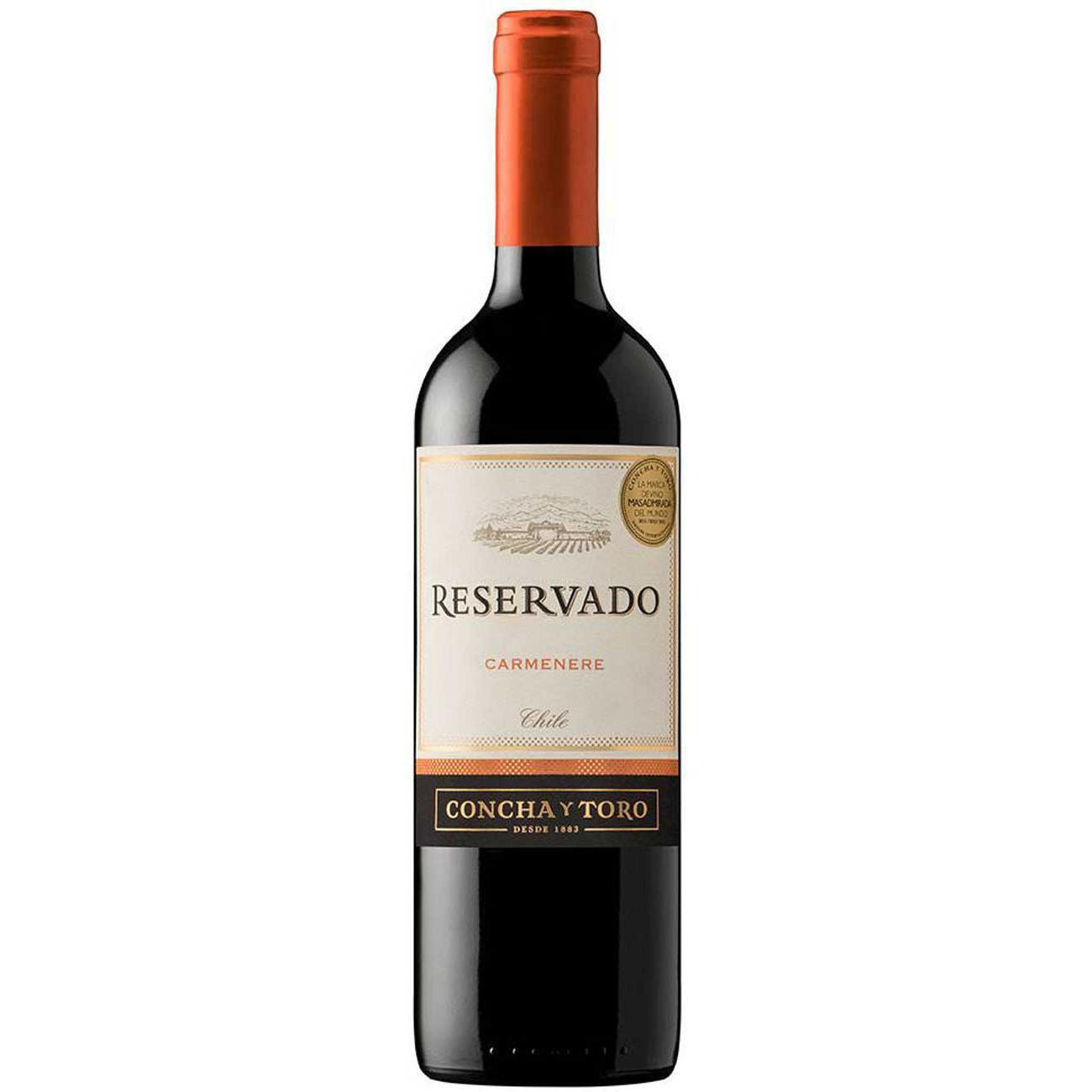 Vinho Concha Y Toro Reservado Carmenere Tinto 750Ml