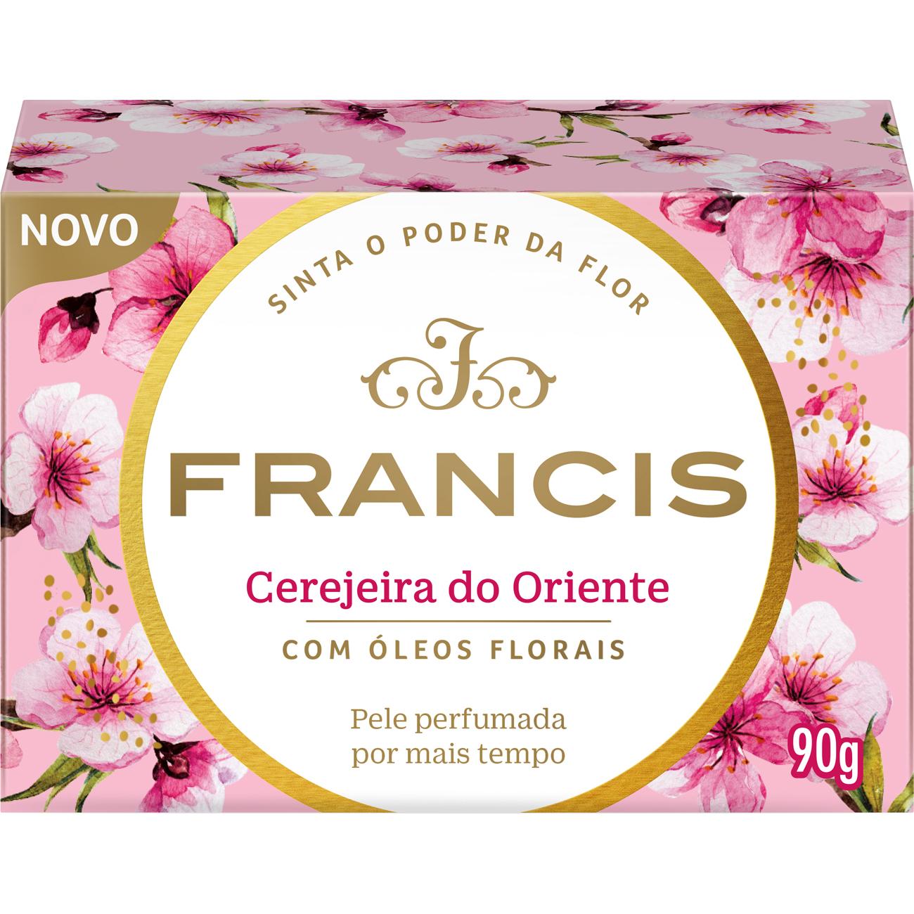 Sabonete FRANCIS CLASSICO 90G ROSA CEREJEIRA