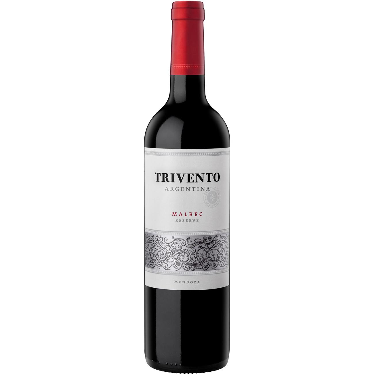 Vinho Trivento Reserve Malbec Tinto 750Ml
