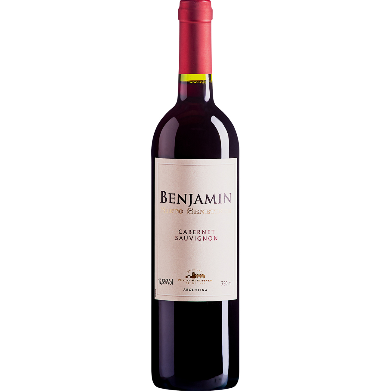 Vinho Argentino Benjamin Nieto Senetiner Cabernet Sauvignon Tinto 750ml