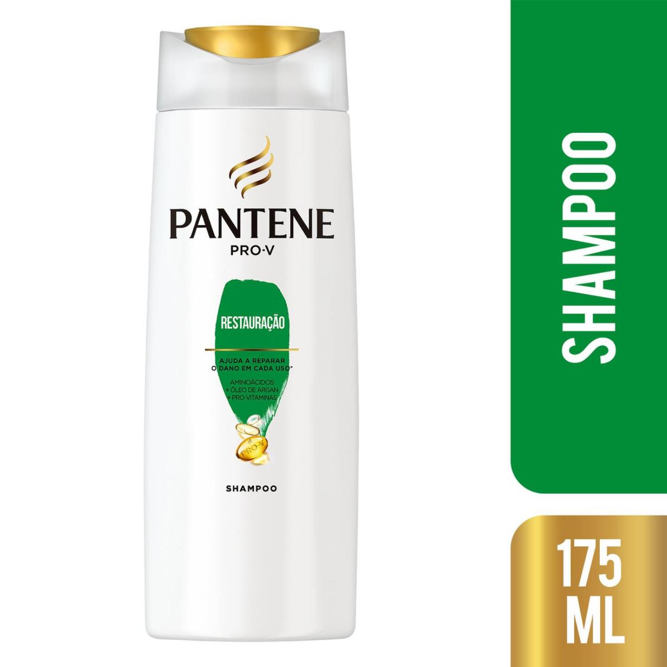 Shampoo Pantene Restauracao 175ml