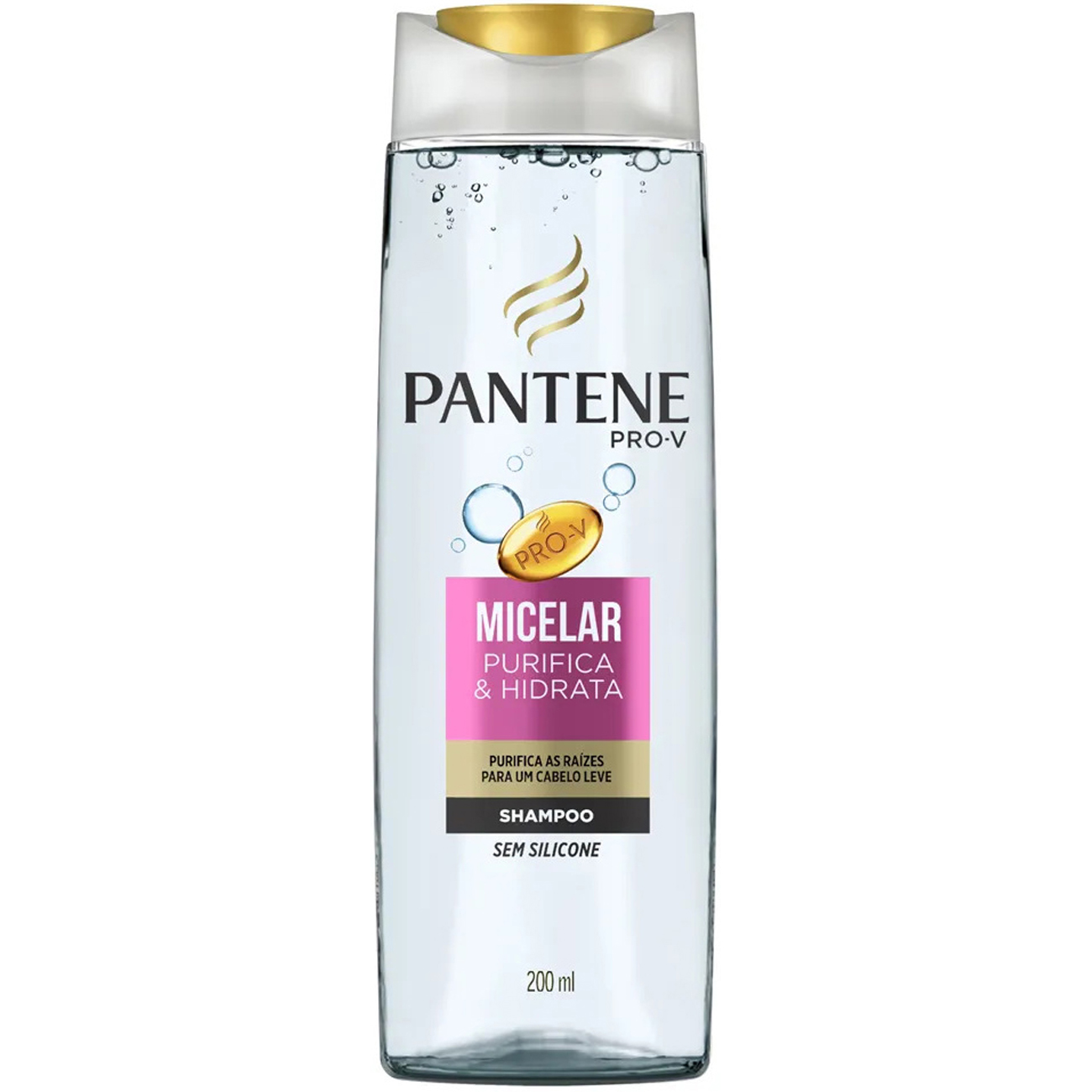 Shampoo Pantene Micelar 200Ml