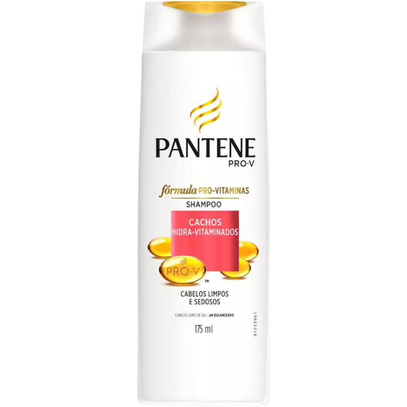 Shampoo Pantene Cachos hidro vitaminados  175 ml