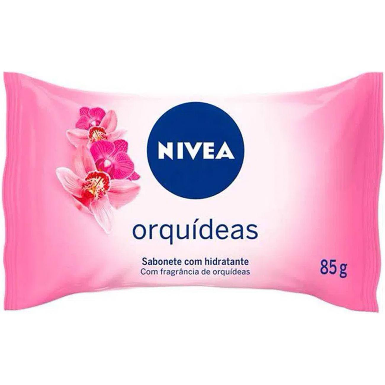 Sabonete em Barra Nivea Hidratante 85G Orquideas