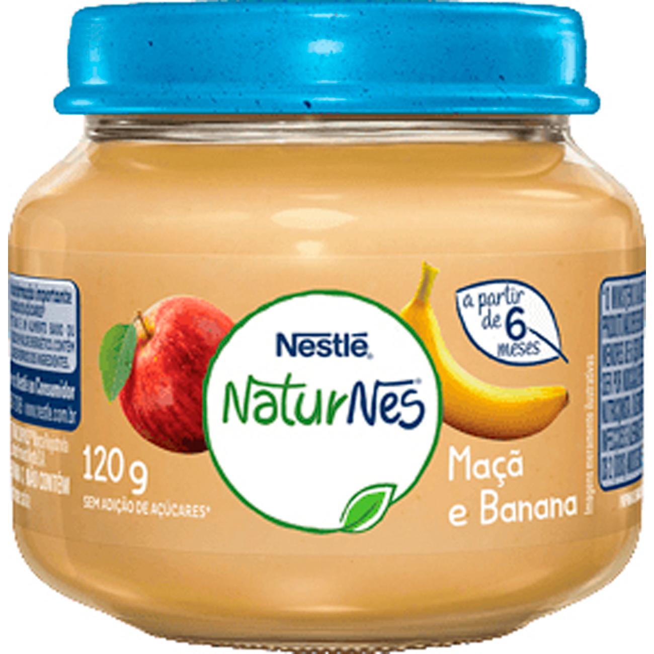 Papinha Nestle 120G Maçã E Banana
