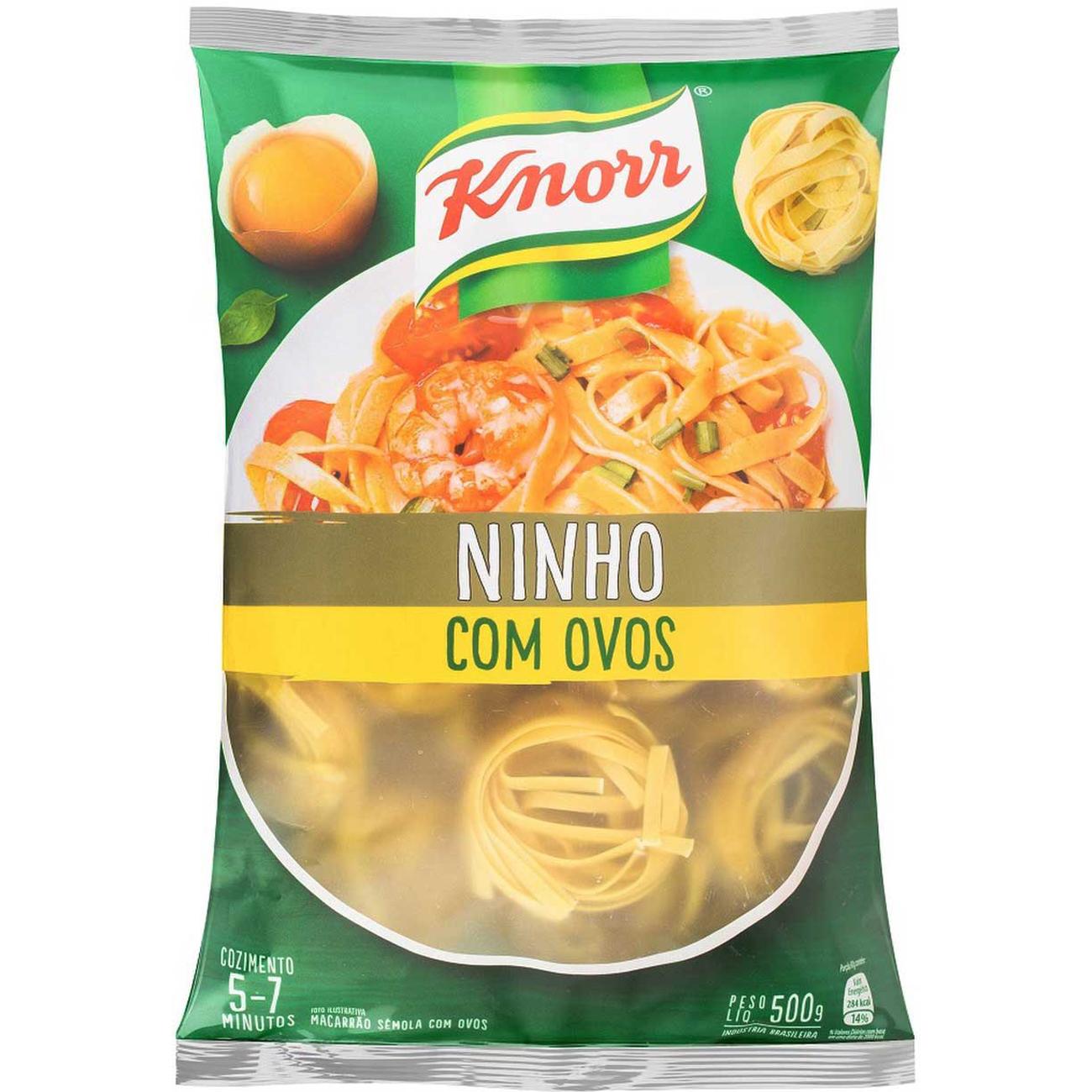 Macarrao Knorr Com Ovos Ninho 500G