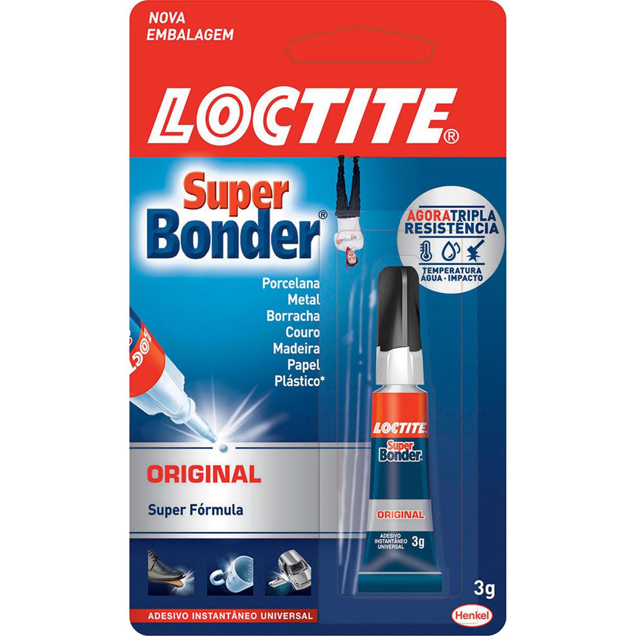 Loctite Super Bonder Original 3g 24 unidades