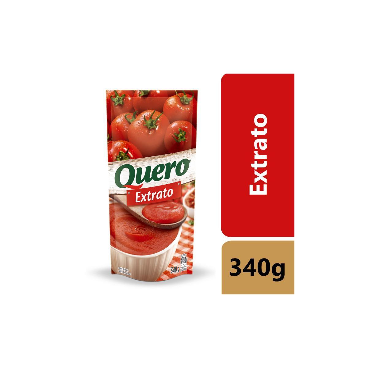 Extrato de Tomate Quero 340G