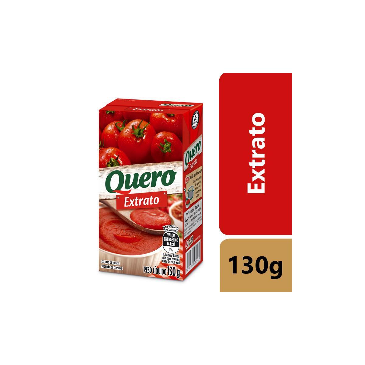 Extrato de Tomate Quero Tp 130G