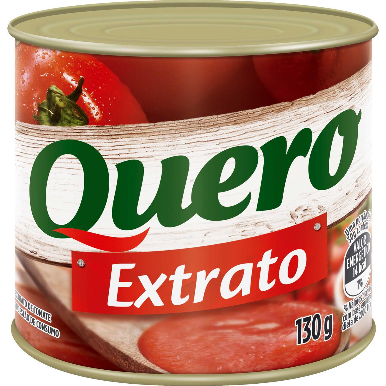 Extrato de Tomate Quero 130G L