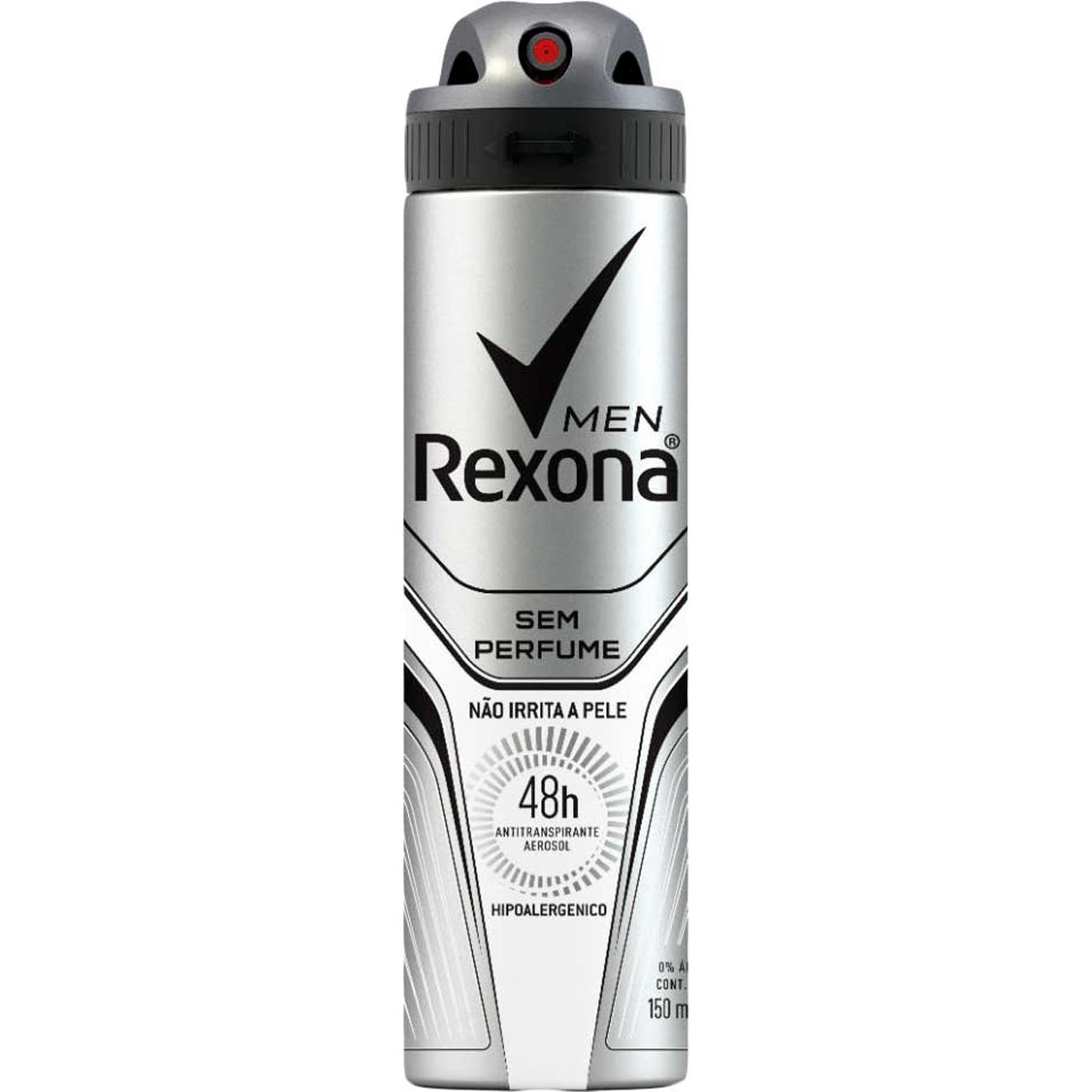 Desodorante Rexona Aero 90G M S/Perfume