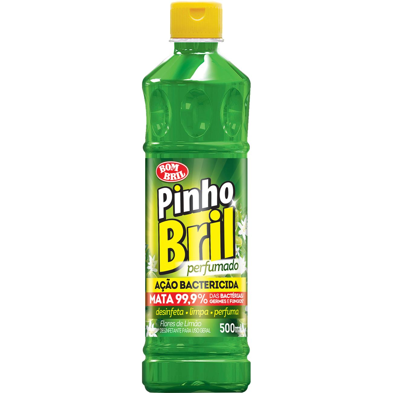 Desinfetante Pinho Bril 500Ml Flores Limao