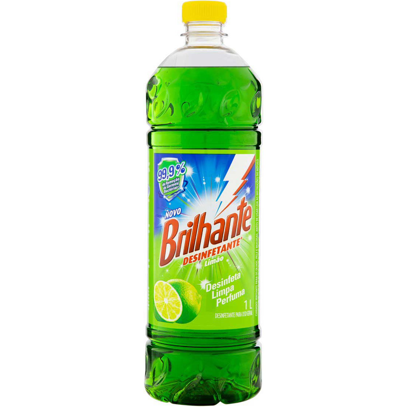 Desinfetante Brilhante Limao 1L
