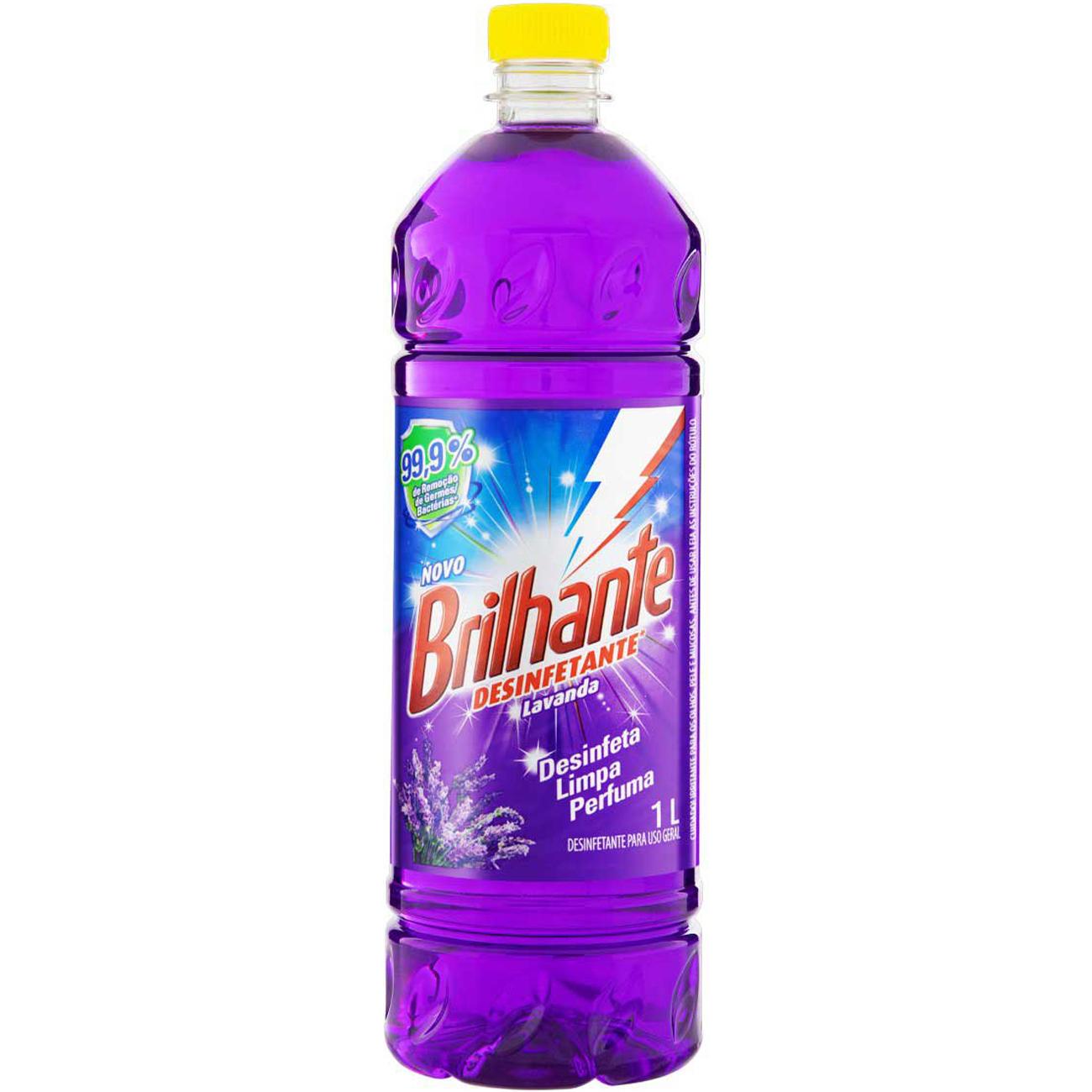 Desinfetante Brilhante Lavanda 1L