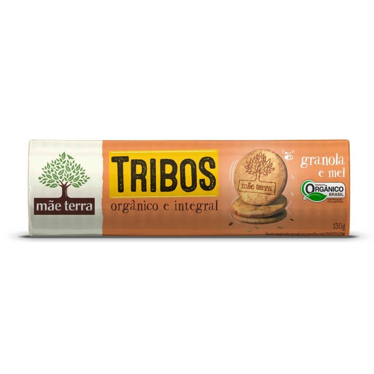 Biscoito Orgânico Tribos Granola 130g