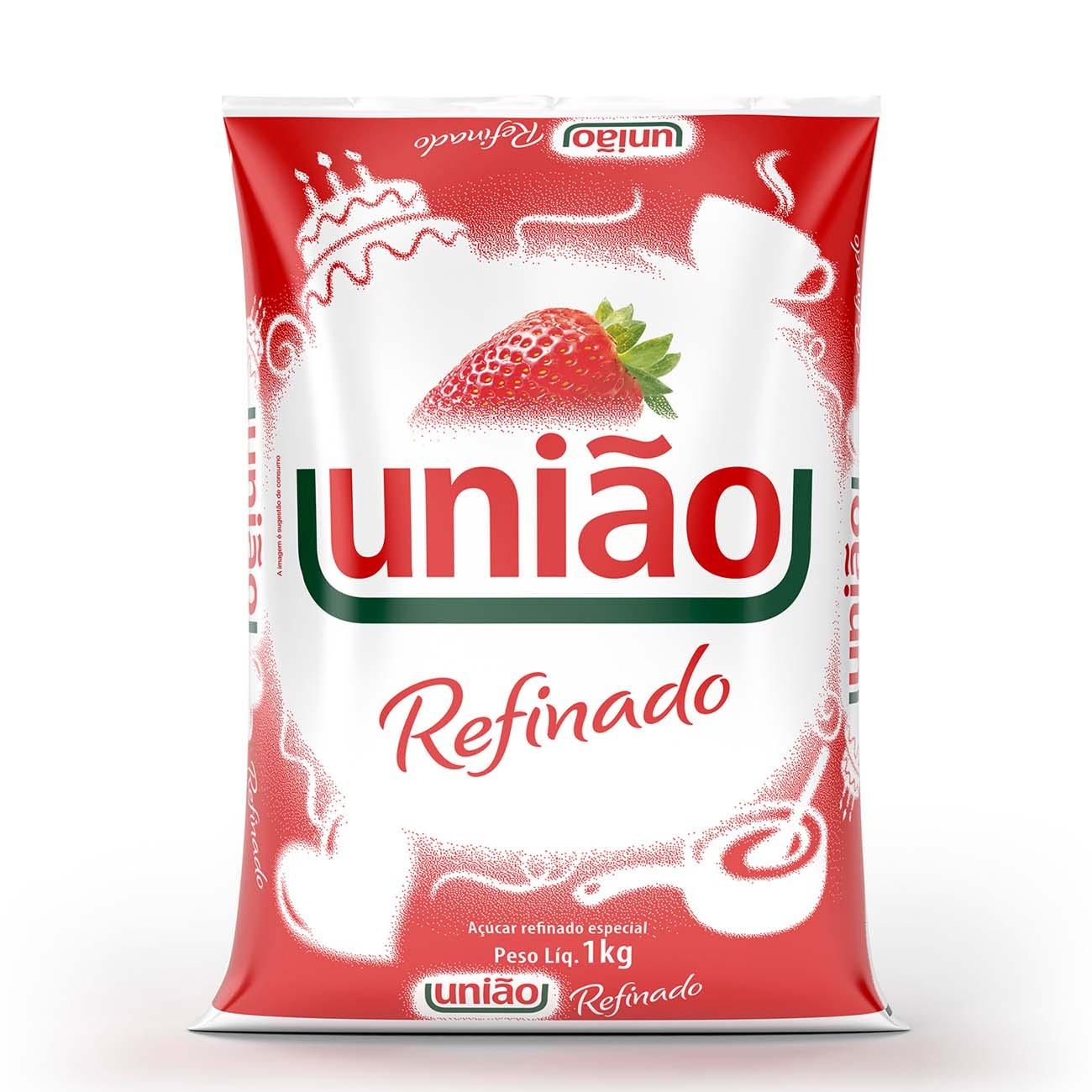 Acucar Uniao Refinado 1Kg