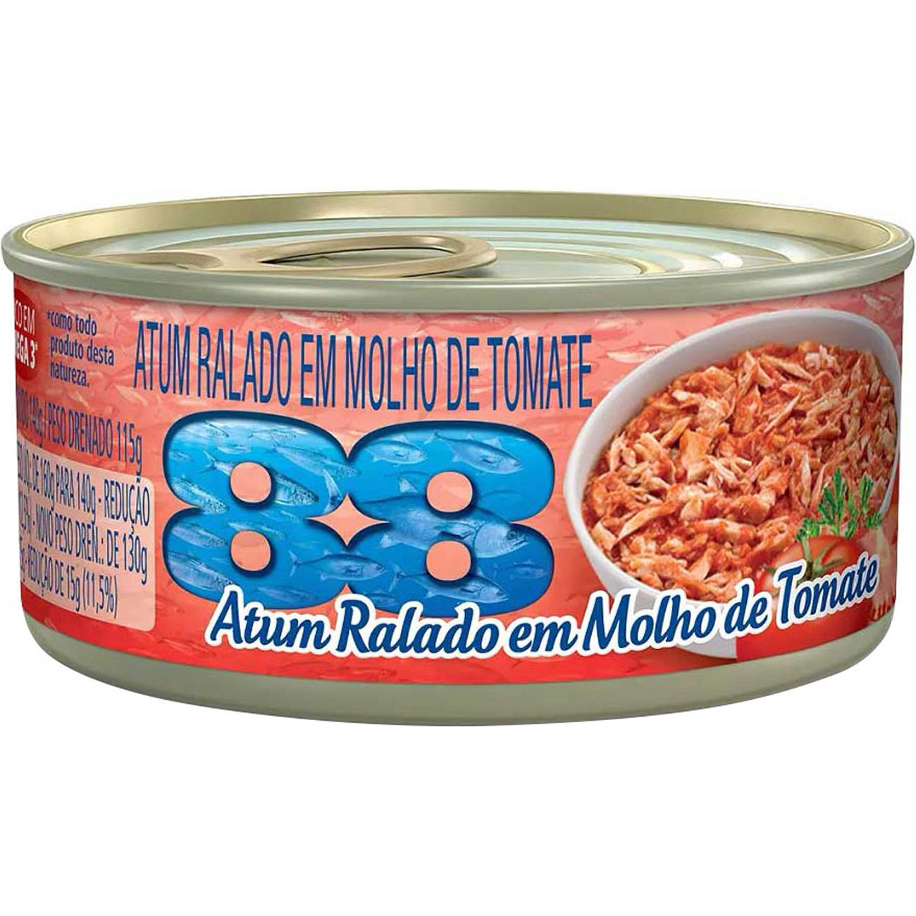 Atum 88 Ralado Tomate 170G