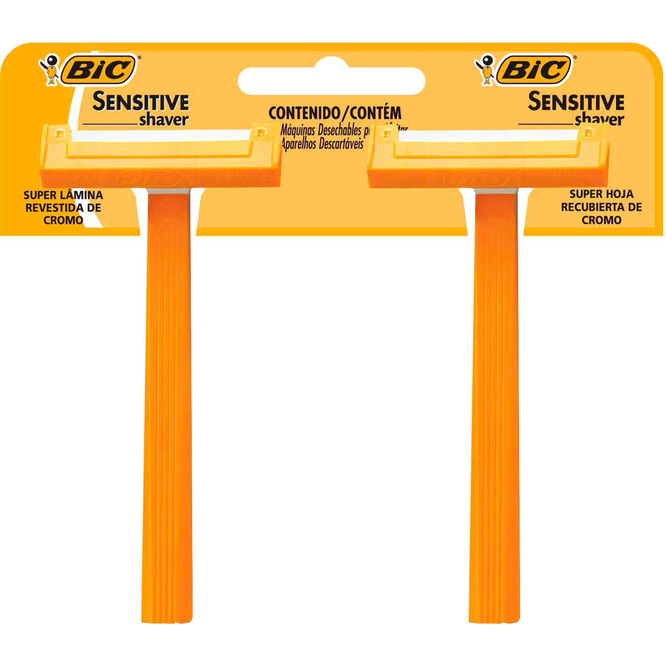 Aparador Bic Sensitive 2Un Shaver