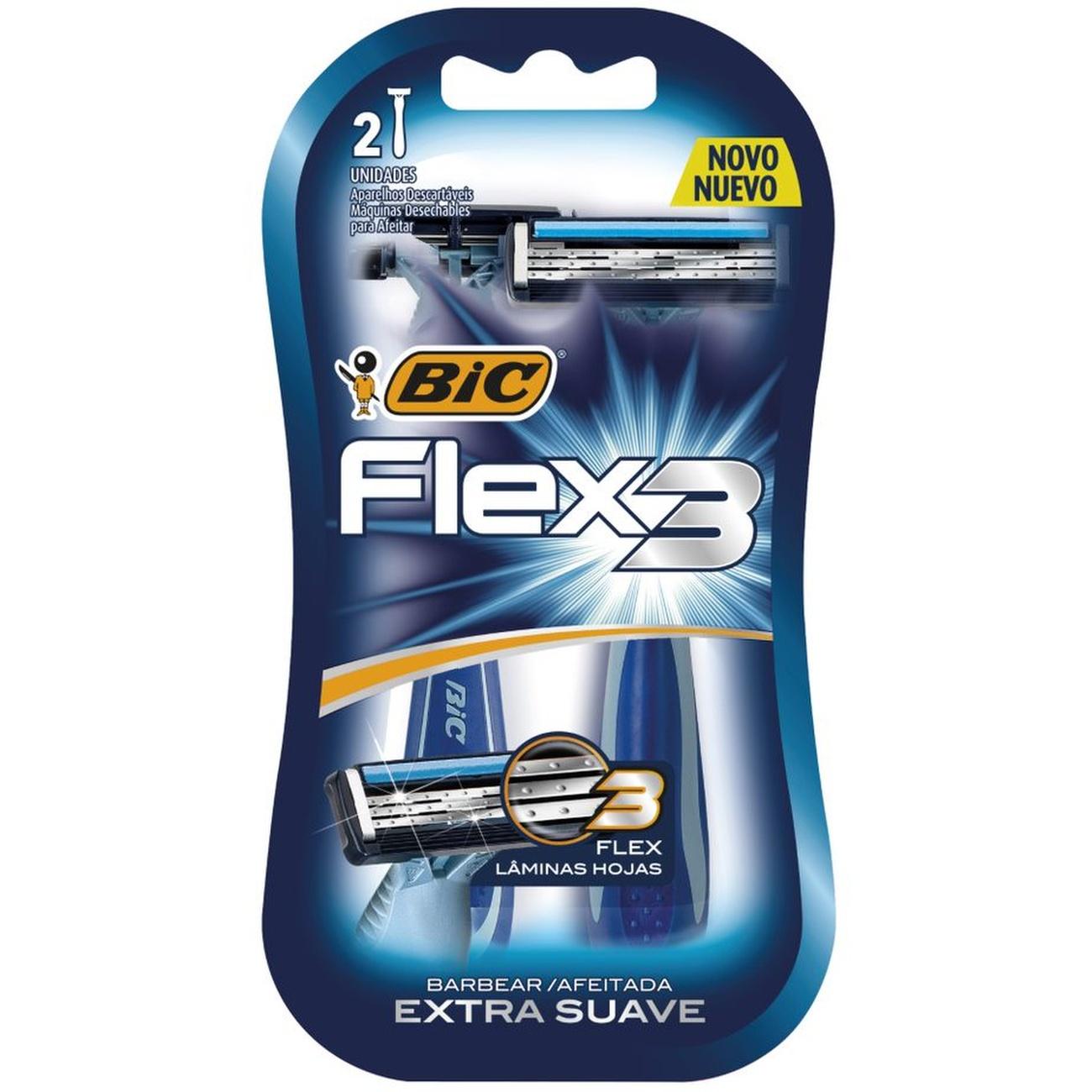 Aparador BIC MASC. 2UN FLEX3 AZUL