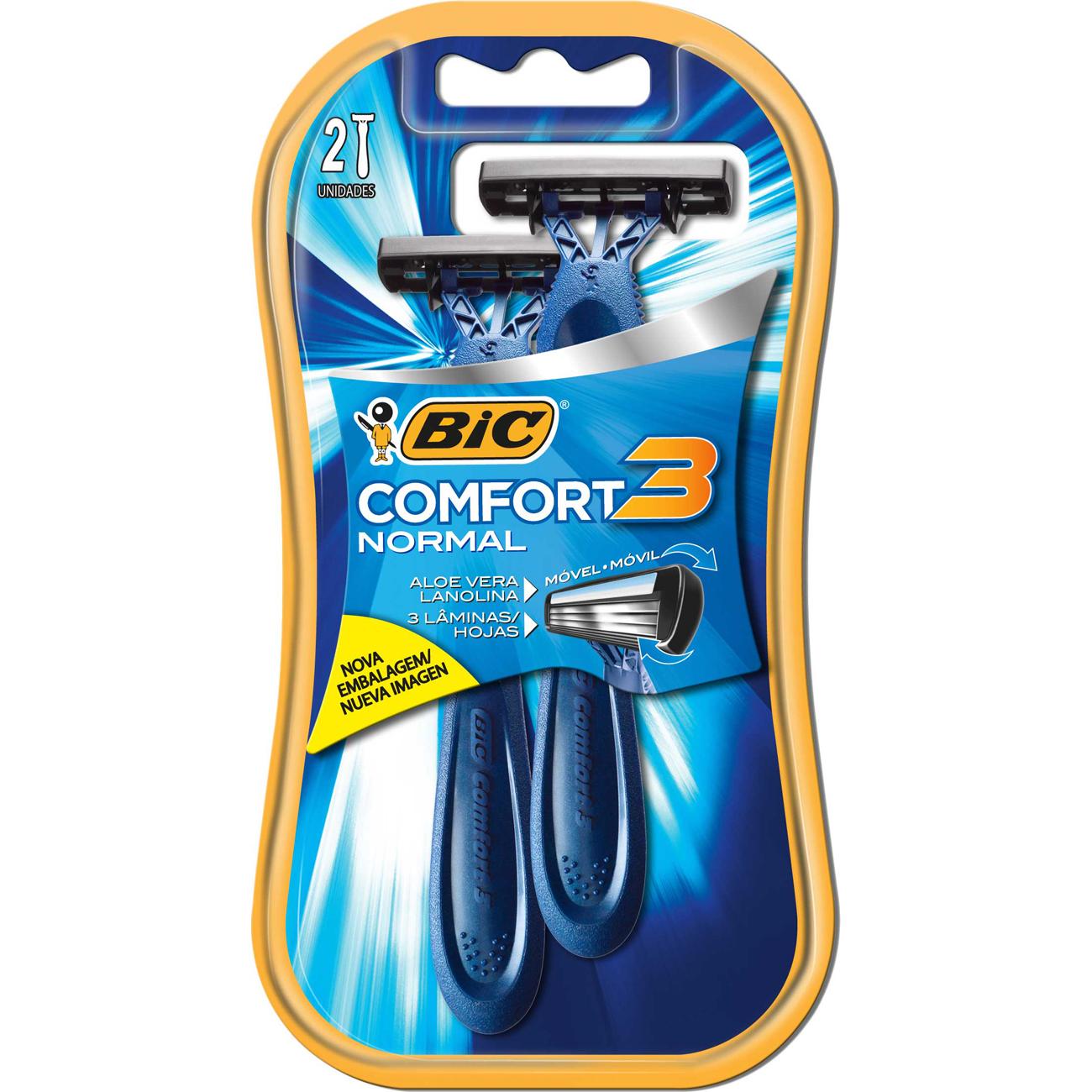 Aparelho de Barbear Bic Comfort 3 2Un P Normal