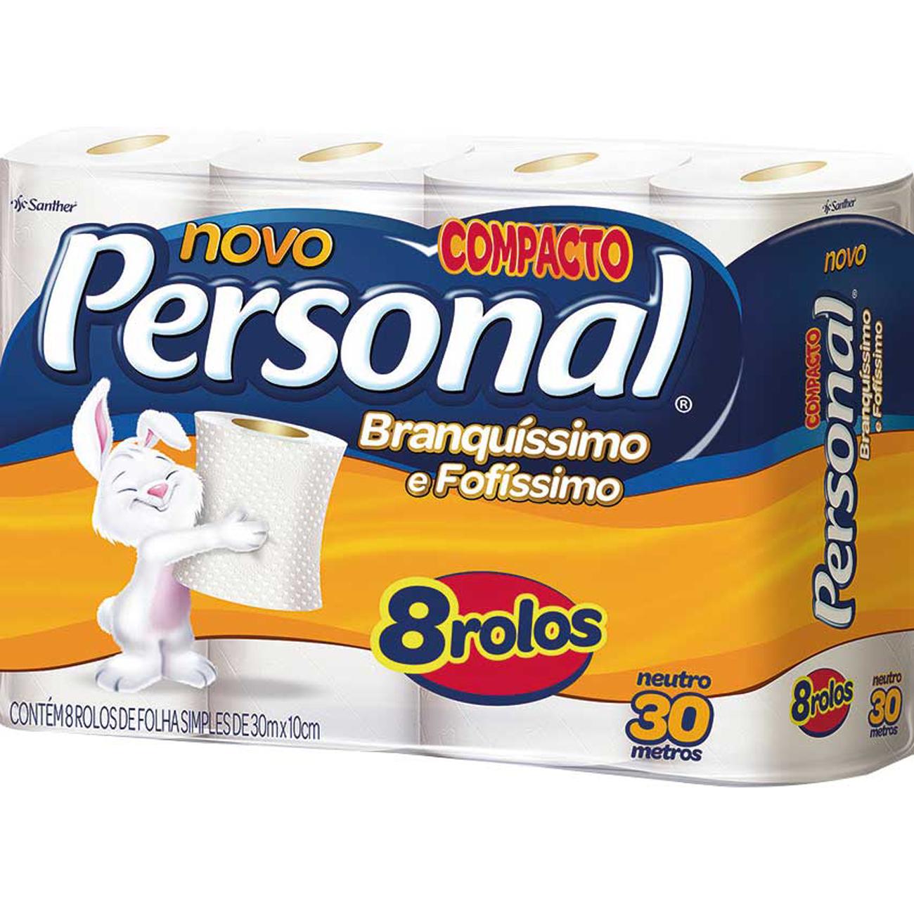 Papel Higienico Personal 8X30M Neutro