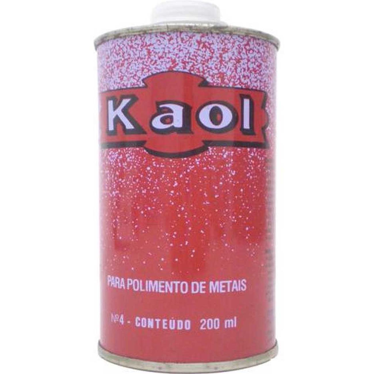 Polidor Kaol para Metais 200ml