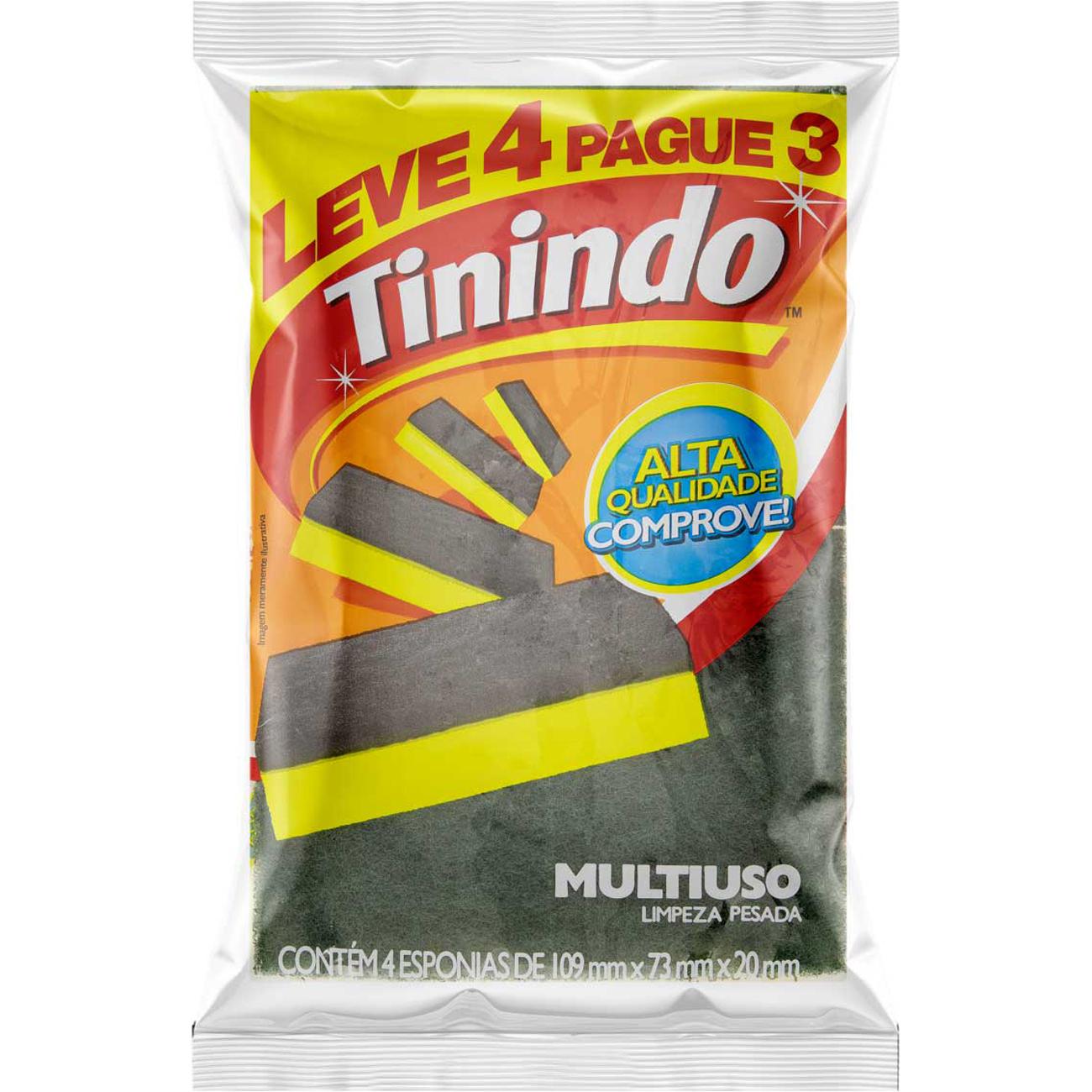 Esponja 3M Tinindo Lv4 Pg3