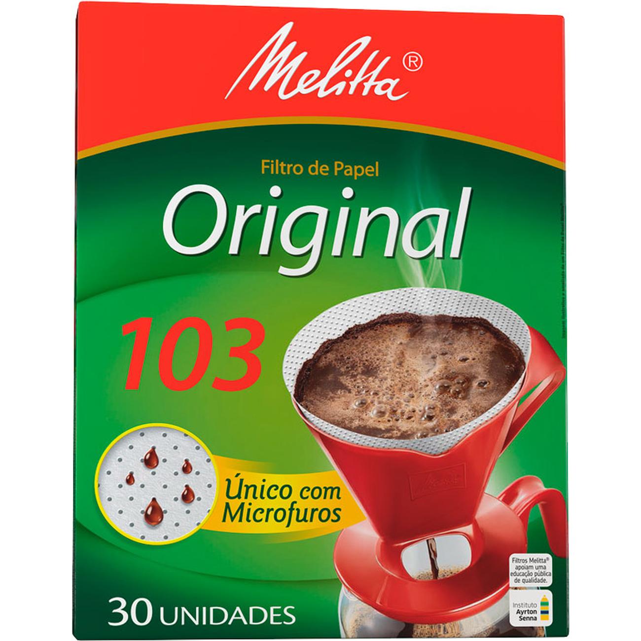 Filtro de Papel Melitta 30Un 103